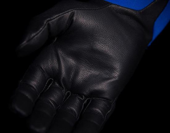 Rękawice Motocyklowe ICON KONFLICT Blue